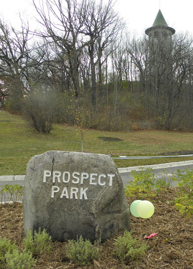 Prospect Park Rock + Tower Hill